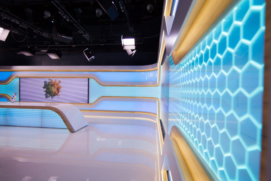 E. Bžeskas: naujoje LRT studijoje – išmanios net dekoracijos