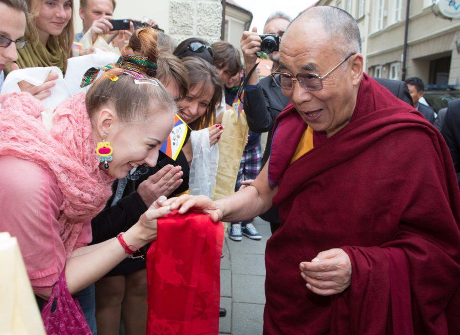 Dalai Lama apsilankys Lietuvos Seime ir Vilniaus Rotušėje