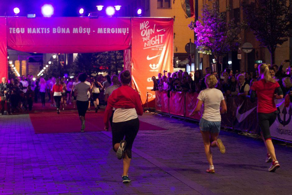 Vilnietes sugundė naktinis bėgimas