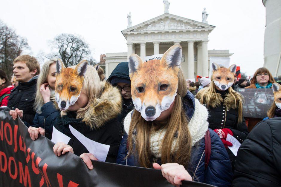 Gyvūnų gynėjai – prieš madą, dėl kurios žudoma