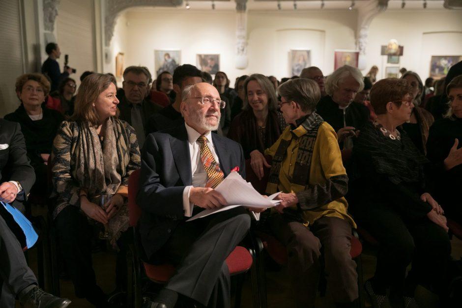Vilniuje atidarytas S. Bako muziejus