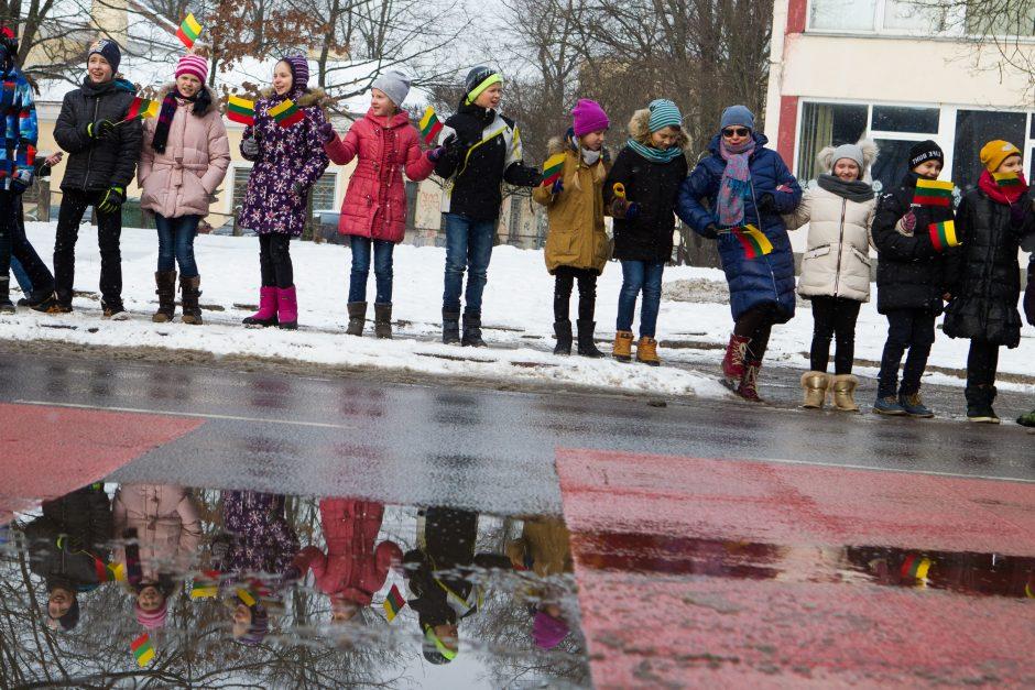 Vaikų rankų tiltas Lietuvai