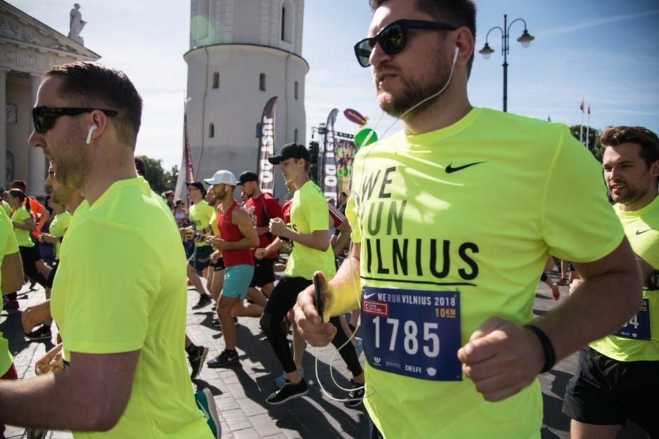 """Vilniaus pusmaratonio bėgimas """"We Run Vilnius"""""""