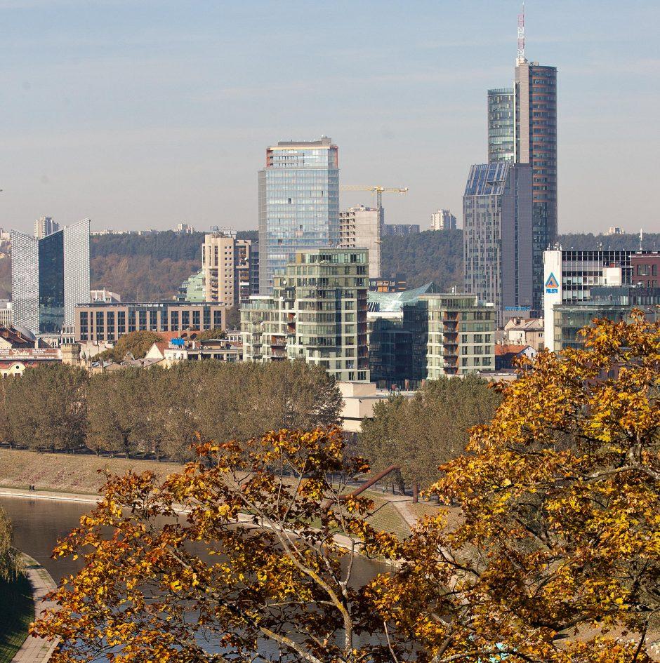 Orai Vilniuje bus gražesni nei vakar