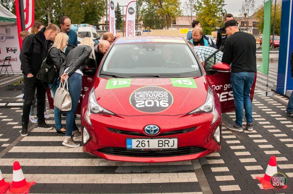 Ko reikia norint tapti geriausiu Lietuvos vairuotoju?