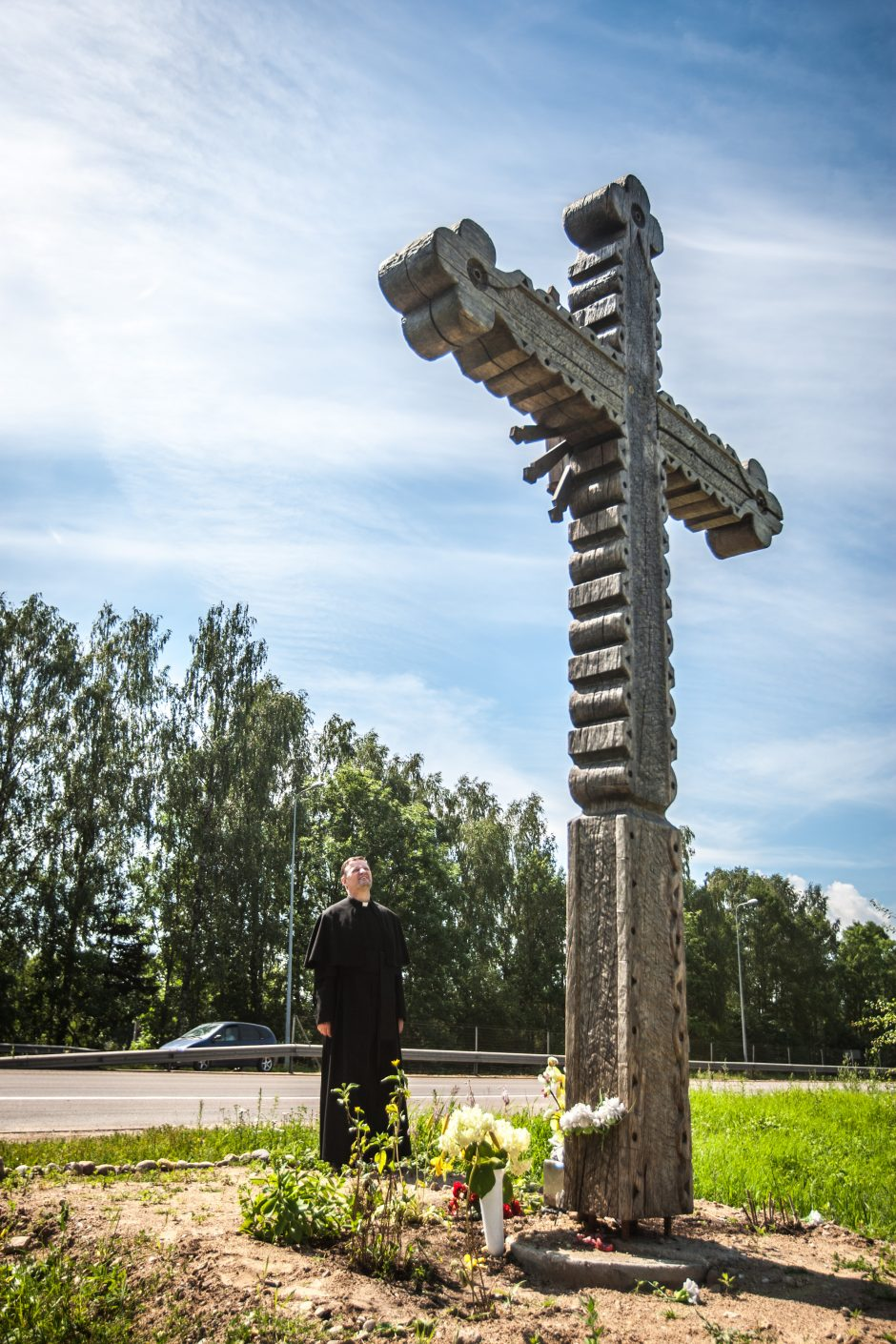 Kodėl prie Ramučių atsirado kryžius?