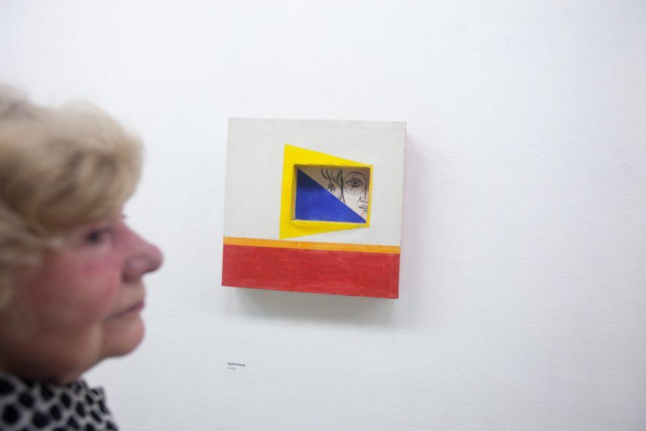 Išeivijos dailės paroda – it pavasarinio vėjo gūsis