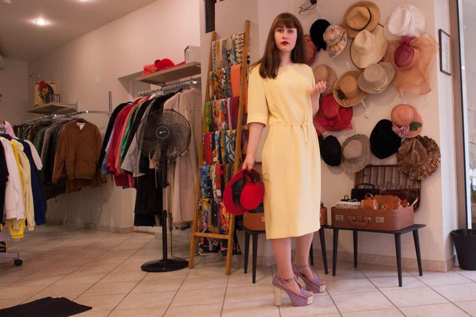 Vintažinės dėvėtų drabužių parduotuvės – išsigelbėjimas jaunimui