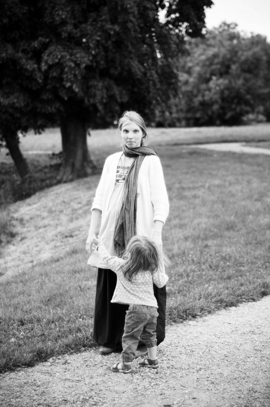 Netradicinė daugiavaikė mama: tegul eina, braido, patiria