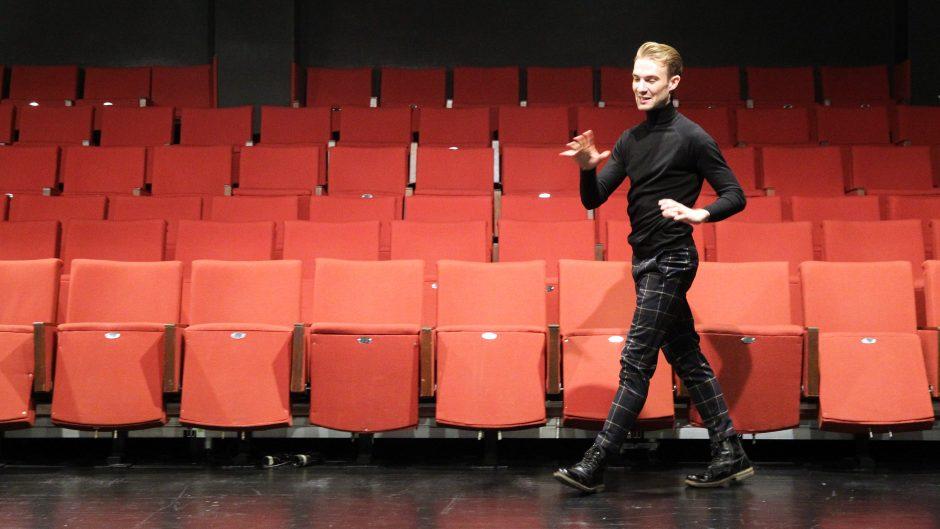 Aktorius A. Gaučas: vietoj ambicijos – smalsumas
