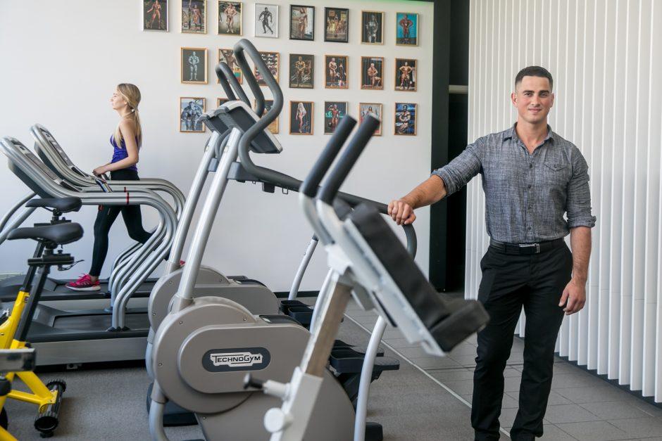 Veržlus vyras sporto virusu užkrėtė Užliedžių bendruomenę