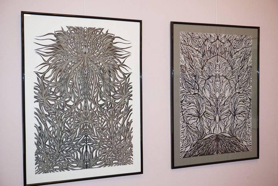 Tautodailininkės aistra – popierius ir žirklės