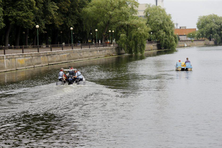 Vandens dviračiais plaukiojantiems poilsiautojams – griežtesnė kontrolė