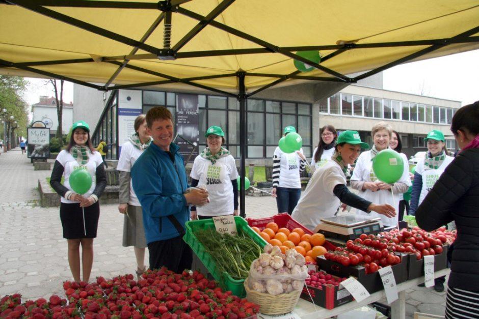 Pilietinė akcija subūrė Lietuvos regionus kovai su šešėline ekonomika