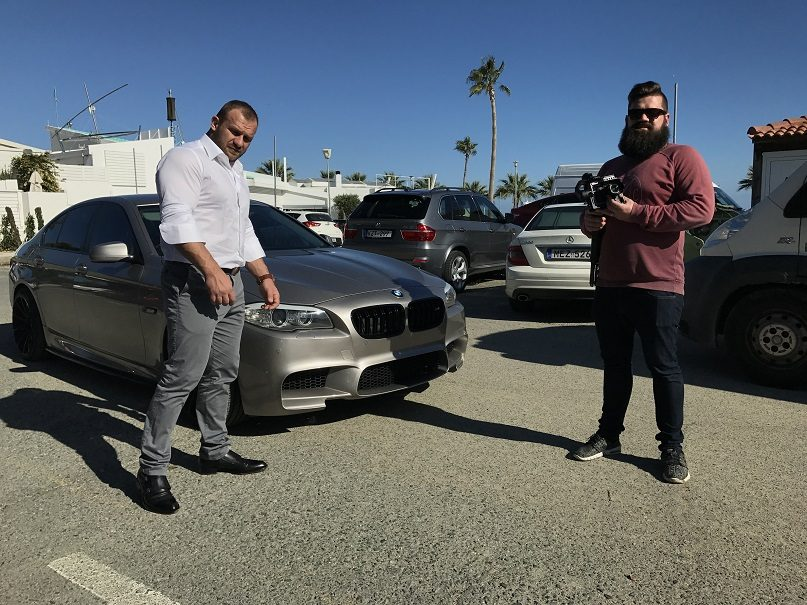 Kipre vaizdo klipą filmuojantis Ironvytas nusivylė vietinių neatsakingumu