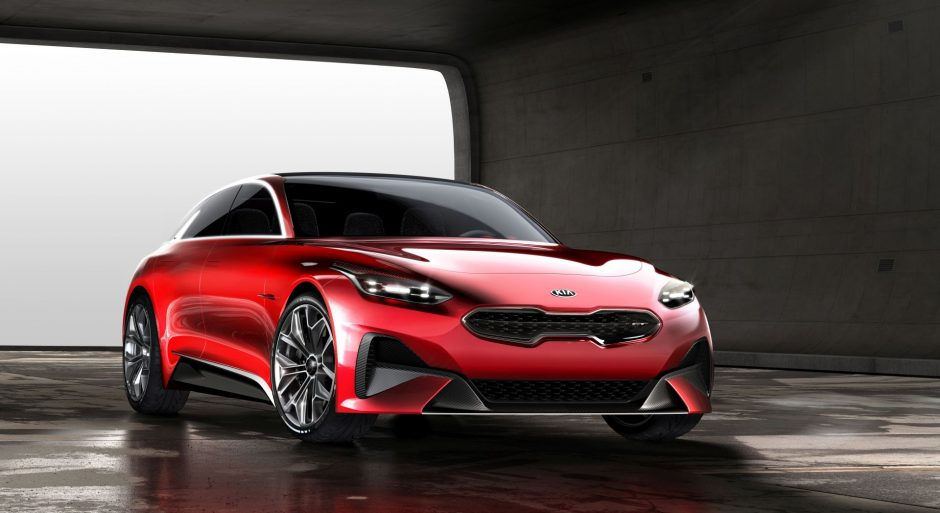 """""""Kia Motors"""" atskleidė, kaip atrodys naujausias modelis"""