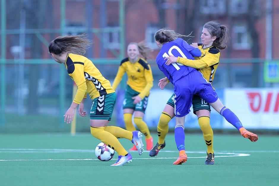 Moterų rinktinė atrankos turnyrą užbaigė pergale