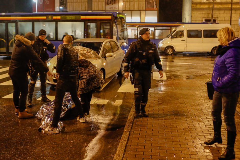 Uostamiesčio gatvėse nukentėjo moteris ir maža mergaitė