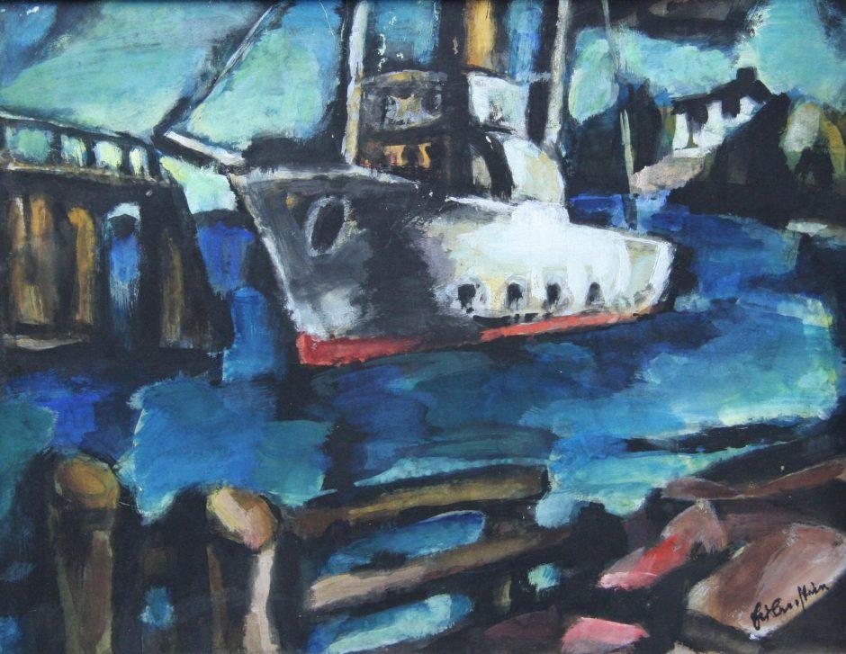 Pasaulyje garsaus ekspresionisto sugrįžimas į Klaipėdą