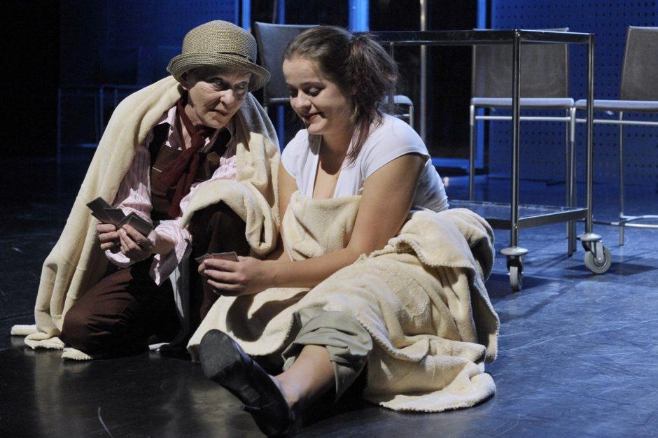 Nacionaliniame dramos teatre – pjesės autorių sužavėjusi klaipėdiečių premjera