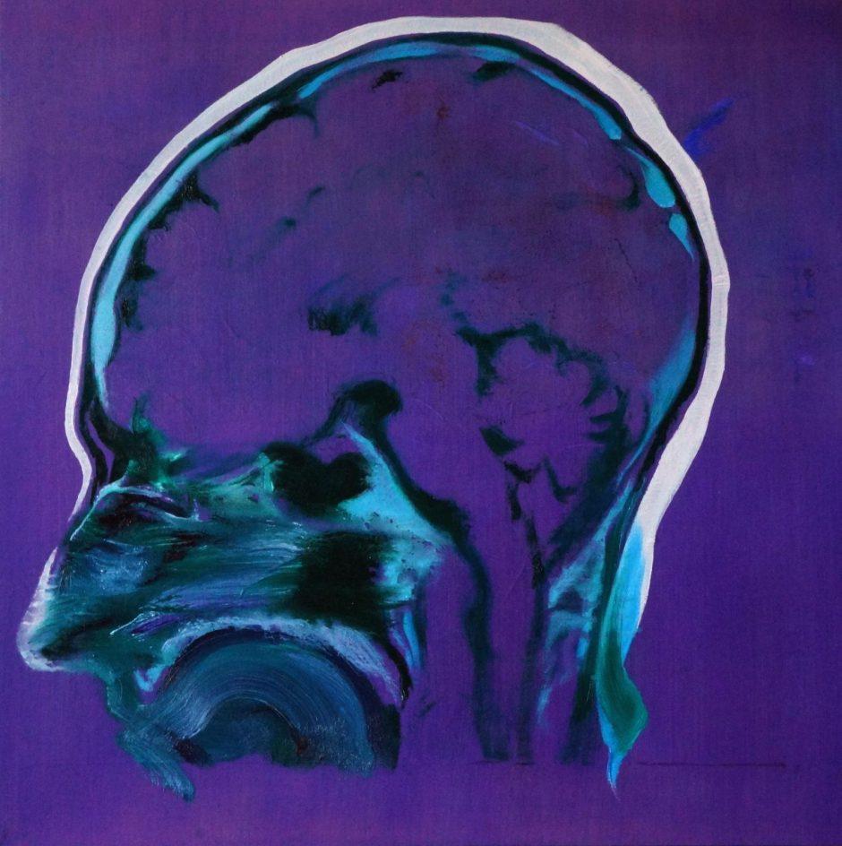 Klaipėdiečio tapytojo R.Marčiaus parodoje – atminties migla