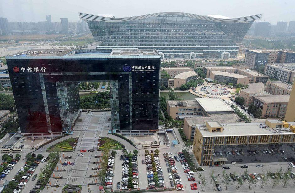 Kinijoje atidarytas didžiausias pasaulyje pastatas