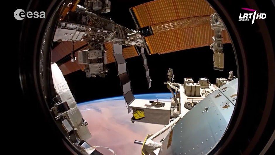 Tarptautinė kosminė stotis – ryškiausias objektas danguje po Saulės ir Mėnulio