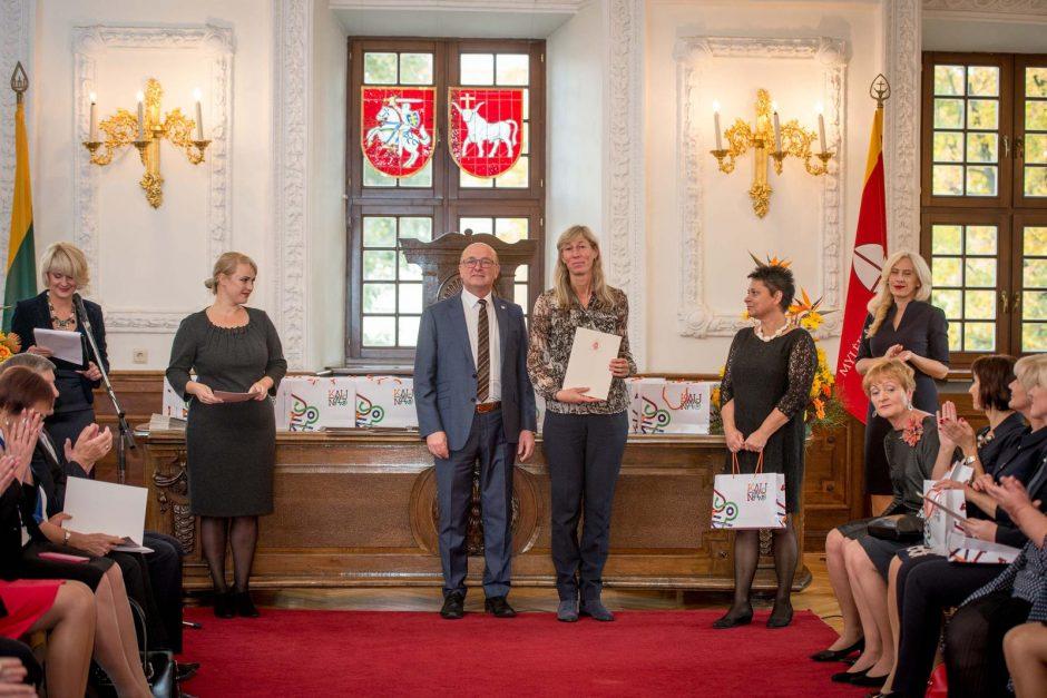 Geriausiems Kauno mokytojams – 1 tūkst. eurų premijos