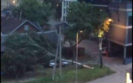 Vilniuje ūžusi audra pridirbo sočiai