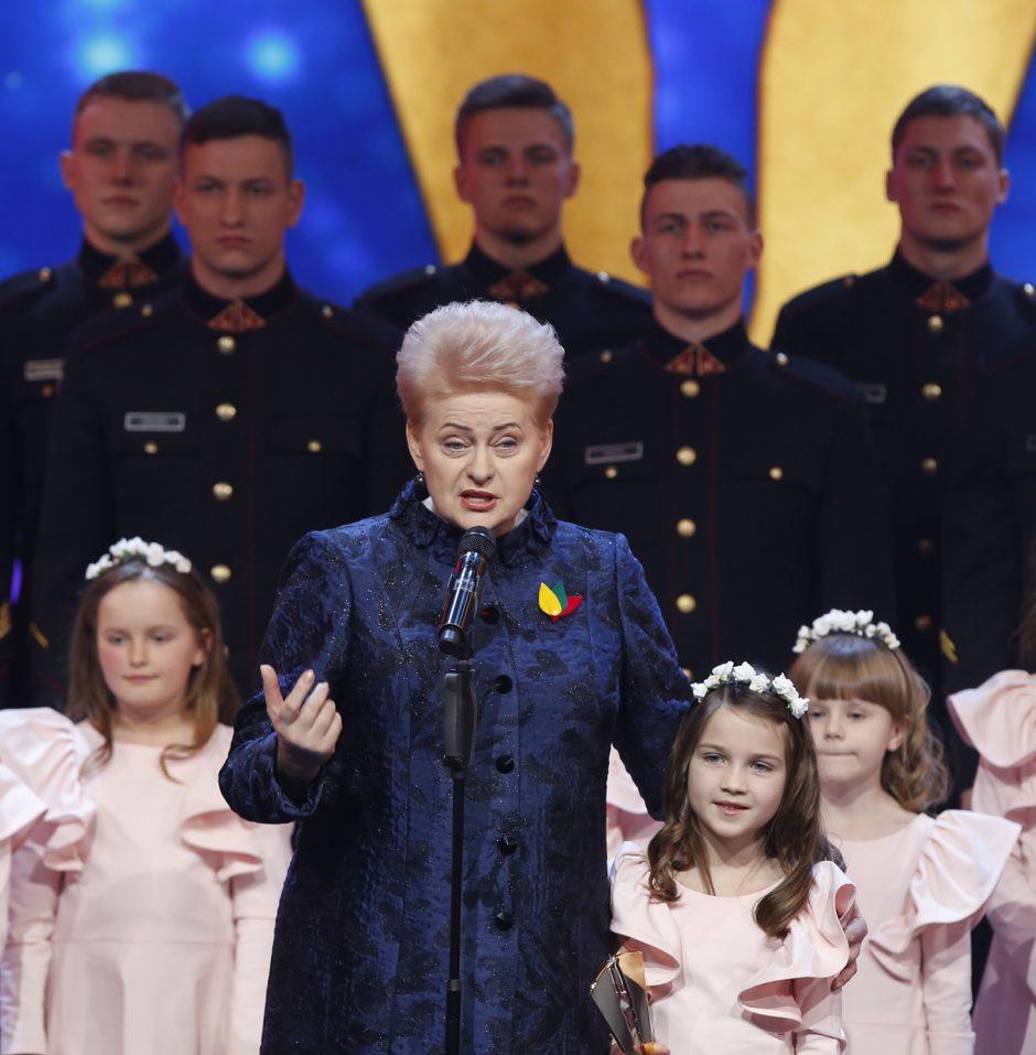 """Apdovanojimai """"Lietuvos garbė 2018"""""""