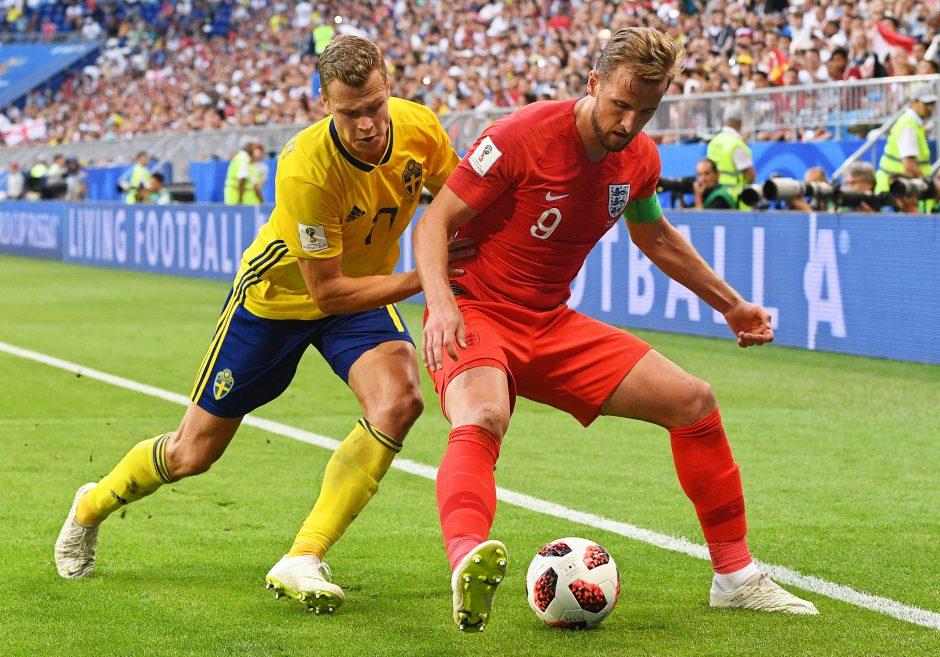 Anglai po 28 metų pertraukos pateko į pasaulio čempionato pusfinalį