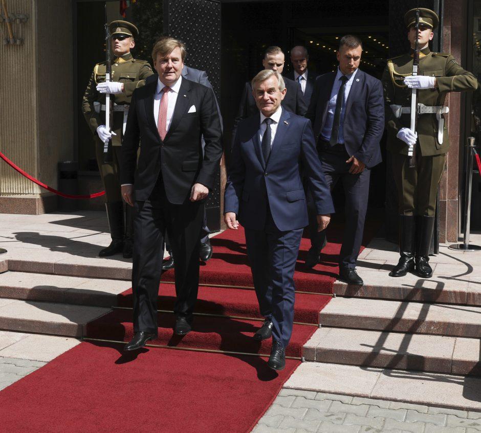 Nyderlandų karalius lankėsi Seime