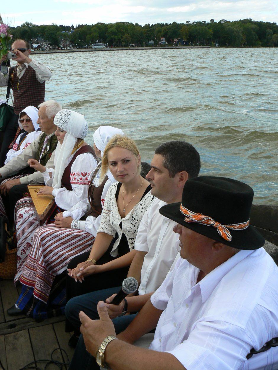 Juodkrantėje – žuviene pagardinta folkloro šventė