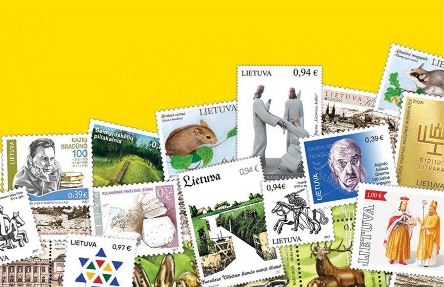 Apie šimtmetį švenčiančią Lietuvą žinią skleis ir pašto ženklai