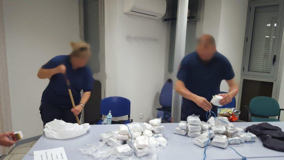 Klaipėdietis dideliais kiekiais iš Ispanijos į Norvegiją gabendavo kokainą ir hašišą