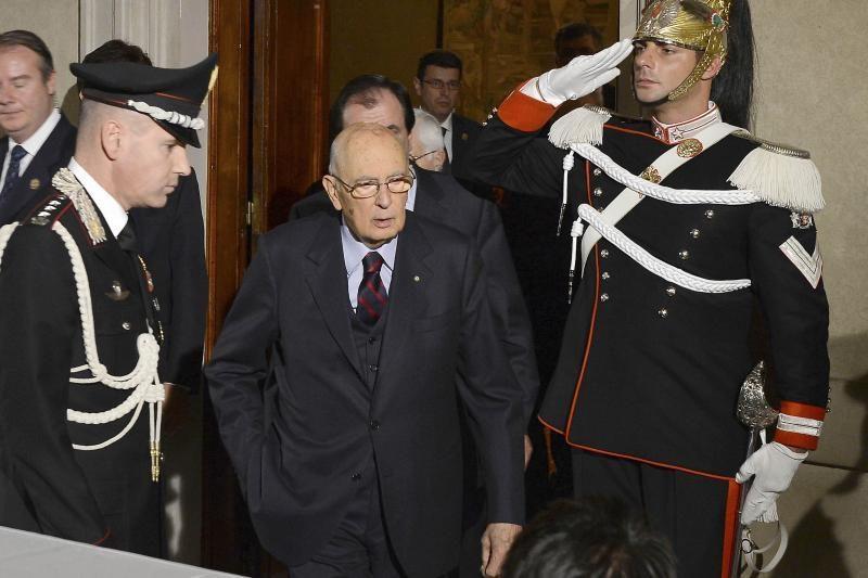 Italijos prezidentas paleido parlamentą