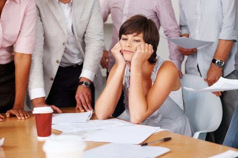 Su moterimis kolegėmis sunkiau sutarti?