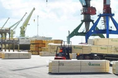 Krovinių vežimas per 9 mėnesius išaugo 2,9 proc.
