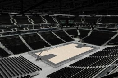 Valdyti Kauno areną pageidauja dvi užsienio bendrovės