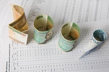 Vyriausybė planuoja deficitinį biudžetą
