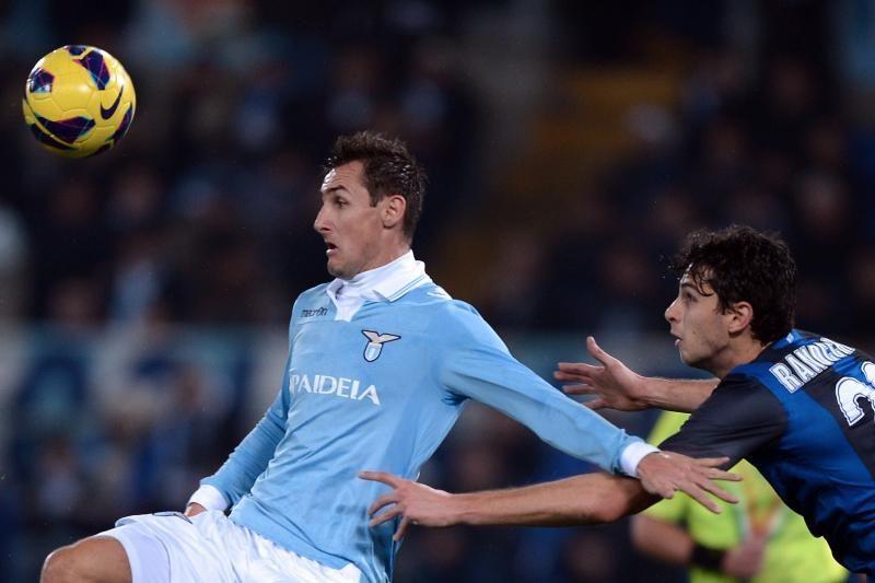 """""""Serie A"""": M. Klose įvartis """"Lazio"""" atnešė pergalę prieš """"Inter"""""""