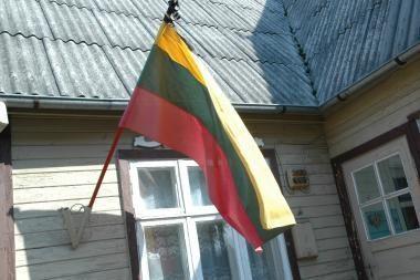 Pareigūnams įkliuvo 28 pastatai be plevėsuojančių trispalvių