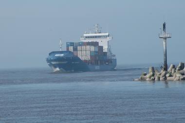 Klaipėdą pasieks bandomoji NATO konteinerių partija
