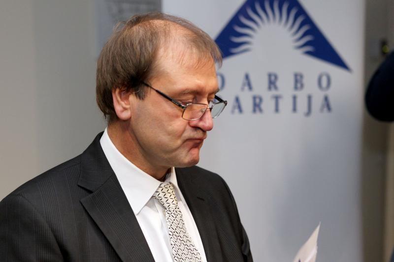 V.Uspaskichas prašo partijos ūkinės-finansinės veiklos ekspertizės