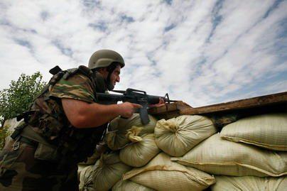 Vilniaus gruzinai pasirengę kariauti