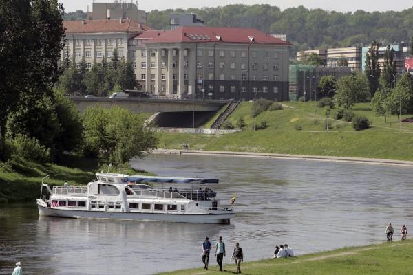 Vilniuje norima atkurti vandens kelią Neries upe