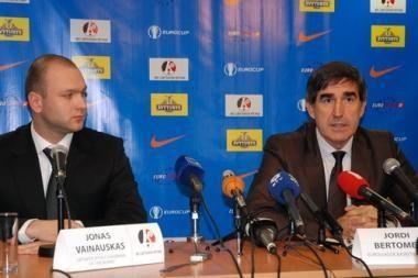 J.Bertomeu: Jaučiuosi kaip rojuje, nes Lietuva - krepšinio šalis