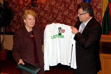 Vistleryje skambėjo Lietuvos himnas