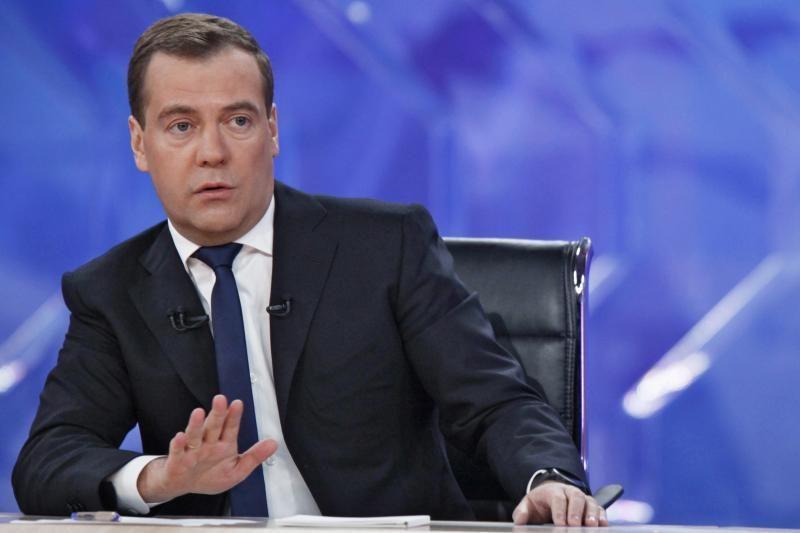 Rusijos premjeras: Kipro indėlių mokestis prilygsta konfiskavimui