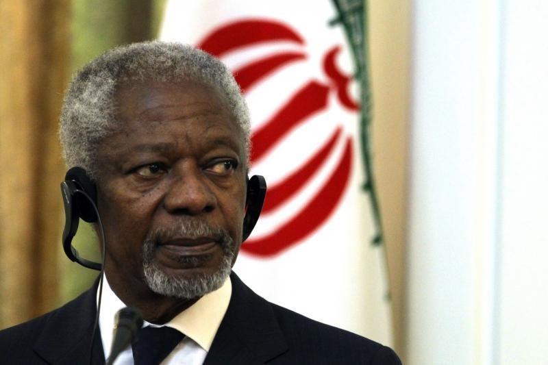 K.Annanas: JAV ir Rusija gali išgelbėti Siriją nuo katastrofos